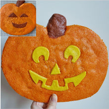 Halloween Jack-o-Lantern / Emoji Cookie Stuffed with Hazelnut-Chocolate Kit by Wendy Kou