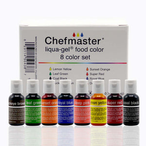 Liquid Gel Kit  8 Colors