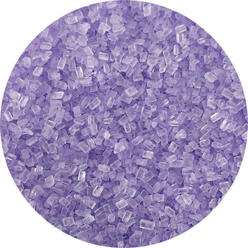 Lilac Sugar Crystals