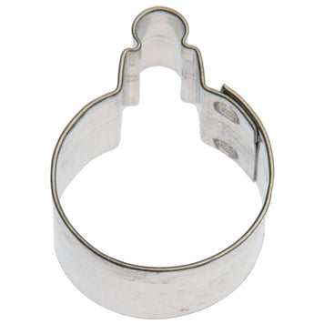 Mini Ornament Round Cookie Cutter 1.25 in