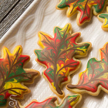 Fall Leaves Cookies Baking Supplies by Sweetambs