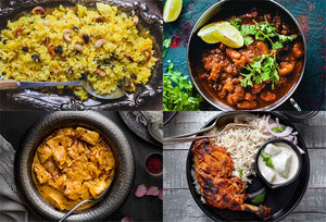 North Indian Favorites (4 Recipe Combo - serves 8)