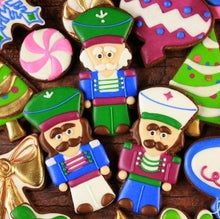 Nutcracker Cookies Supplies and Tutorial by LilaLoa