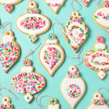 Ornaments Cookie Kit by SweetAmbs (24 cookies)