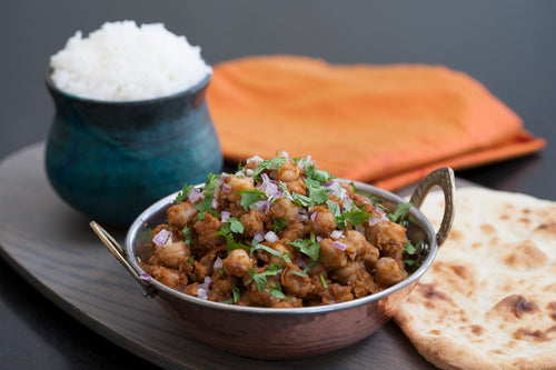 Punjabi Chole (with Organic Chickpeas) (serves 2)