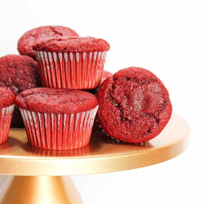 Red Velvet Cupcake Mix by Karlee's Kupcakes (makes 12 cupcakes)