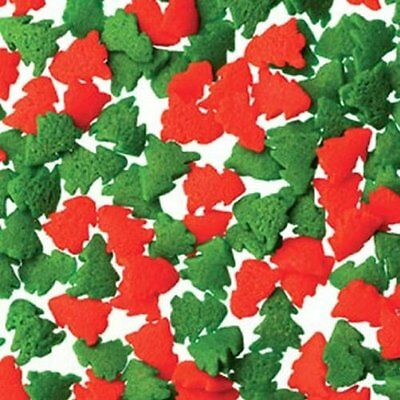 Red & Green Trees Edible Confetti (2.6 oz)