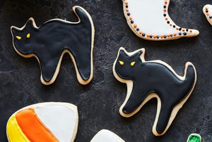 Scary Cat GB Cookie Cutter 4 in