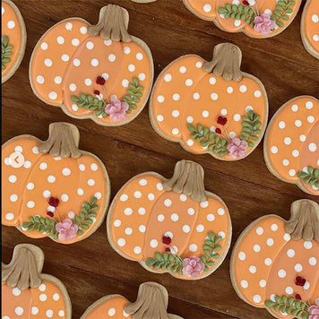 Thanksgiving Tablescape Cookie Baking Supplies by The Painted Pastry