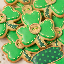 St. Patrick's Day Mason Jar Cookies Supplies & Tutorial by SweetAmbs