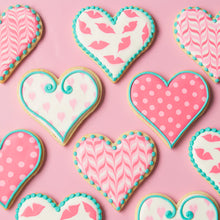 Beginner Royal Icing Cookie Decorating LIVE Class with Sweetambs - Valentine's Day Cookies (Coming Back Soon)