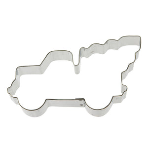 Truck with Tree Cookie Cutter 5 in