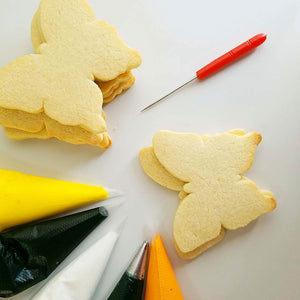 Butterfly Cookie LIVE Class by Haniela's (Saturday, April 10th)