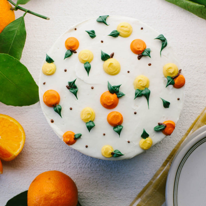 Gluten Free Citrus Cake Supplies & Tutorial by Global Belly