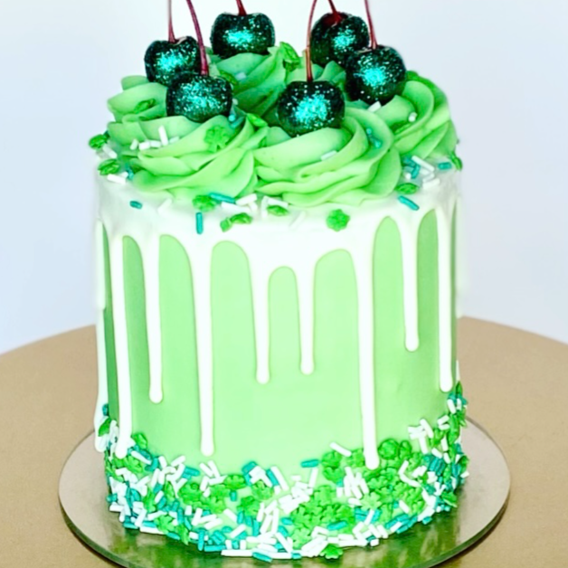 St. Paddy's Day Sprinkle Cake Supplies & Tutorial by Buttercream Lane Cakes