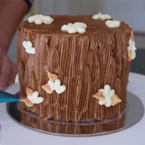 Wood Trunk Cake Supplies and Video Tutorial by Rosie's Dessert Spot