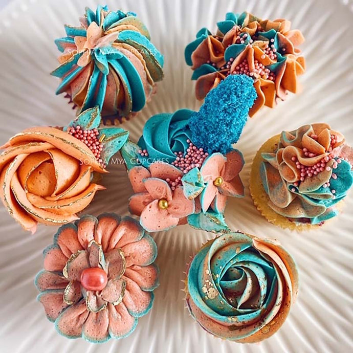 Autum Cupcake LIVE Masterclass with Nina @ Sophia Mya Cupcakes (Saturday, September 26th at 9pm EST)