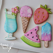 Hand Painted/Water Color Cookies LIVE class with Mary Valentino of Emma's Sweets (Saturday August 15th at 1pm EST)