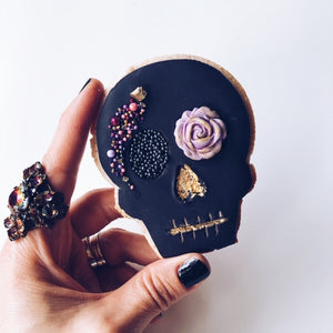 Glam Skull Sugar Cookie LIVE Masterclass with Sophia Mya Cupcakes (Coming Back Soon!)