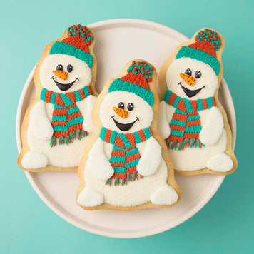 Snowman Cookies Supplies and Tutorial by Sweetambs