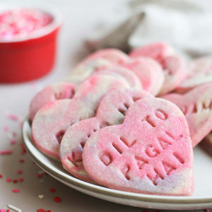 Bollywood Conversation Hearts Supplies and Tutorial by Milk & Cardamom