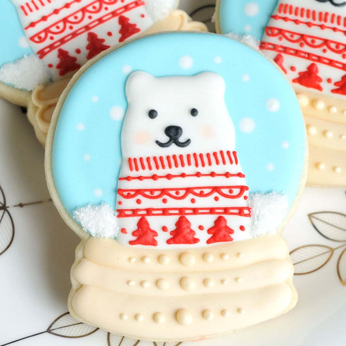 Snow Globe Cookie Decorating Supplies & Tutorial by Haniela's