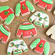 Ugly Sweater Kit by Haniela's (18 cookies)