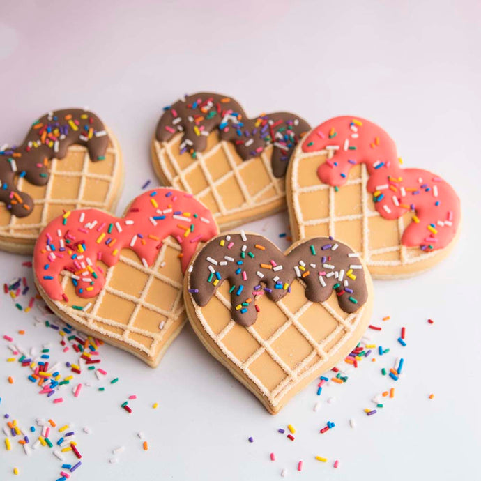 Waffle Cookies Supplies and Tutorial by Haniela's
