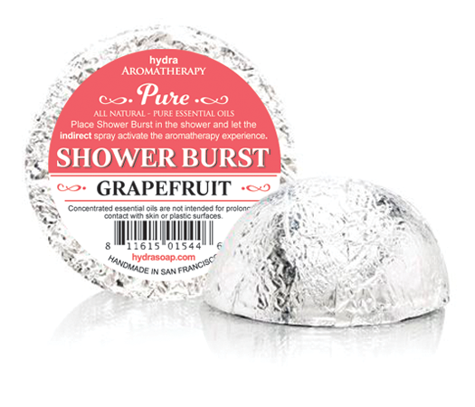 Grapefruit Bath Fizzies
