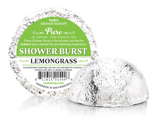 Lemongrass<br>Shower Burst