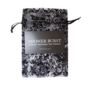 Shower Burst Sachet Black