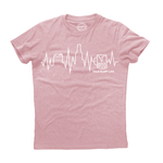 Cold Glory Beer EKG T-Shirt  Pink