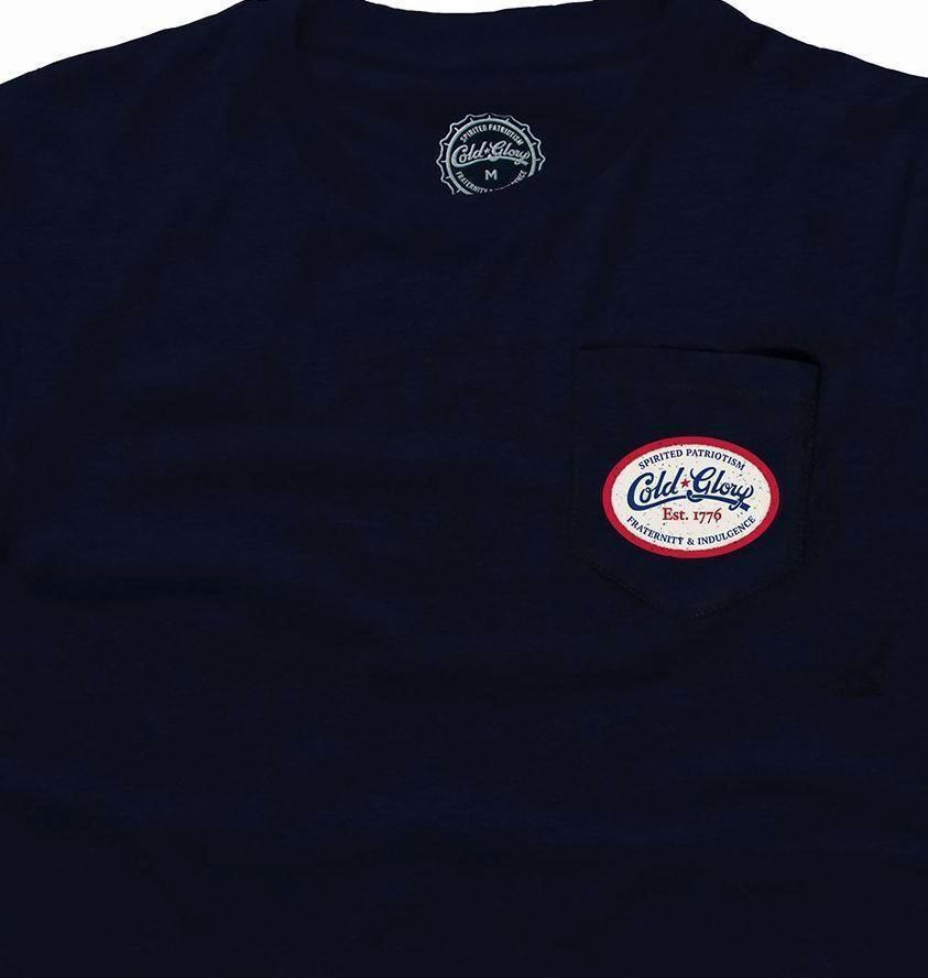 Cold Glory 6 Pack Pocket T-Shirt Navy