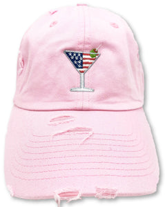 Pink Martini American Flag Hat