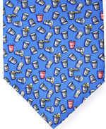 Light Blue Beer Pong Ties