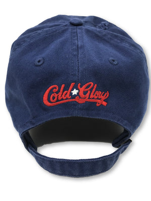 Navy Cheers American Flag Hat