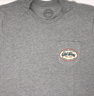 Cold Glory 6 Pack Pocket T-Shirt Grey