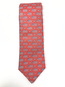 Red Old Glory Tie