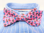 Pink Kegstand Kid Bow Tie