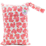 Feminine Wear Wet Bag - Medium Hearts