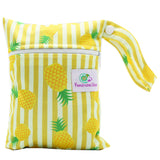 Feminine Wear Wet Bag - Small Pineapples
