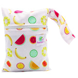 Feminine Wear Wet Bag - Small tropical Fruit