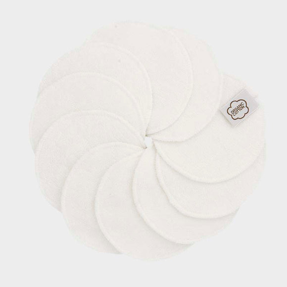 ImseVimse Cleansing Pads - Cotton Terry - White
