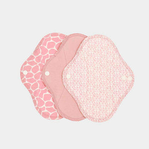 ImseVimse Organic Cotton Pantyliners - Pack of 3 - Blossom