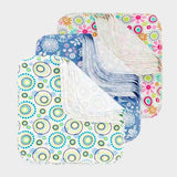 ImseVimse Organic Washable Wipes - patterned