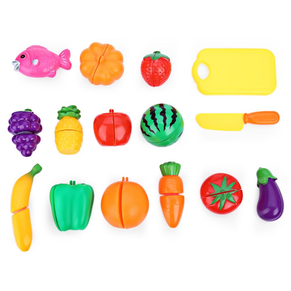 Toy Kitchen Play Set for Kids and Toddlers - Cooking Pretend ...