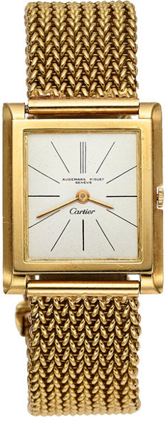 Audemars Piguet For Cartier Important Gold Watch Of Iconic Film Director Sidney Lumet