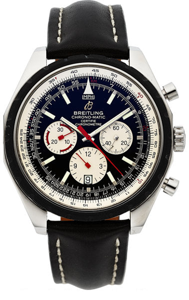 Breitling Chrono-Matic 49 Chronograph Certified Chronometer Wristwatch