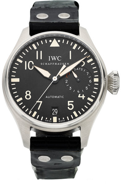 IWC Gentleman's Big Pilot Stainless Steel Watch