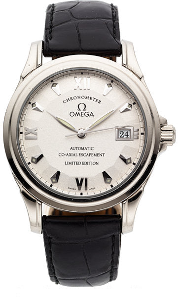 Omega De Ville 18k White Gold Limited Edition Co-Axial Escapement Automatic